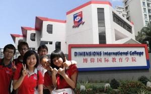 Cao đẳng quốc tế Dimensions Singapore