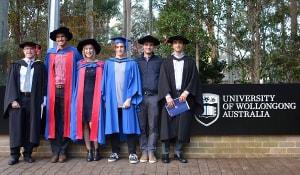 Đại học Wollongong, Úc