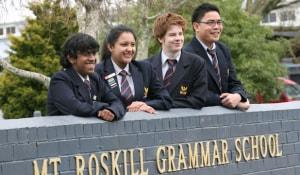 Trung học Mount Roskill Grammar, New Zealand