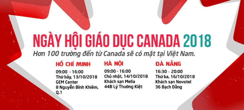 Ngày Hội Giáo Dục Canada Thường Niên do Chính phủ Canada tổ chức Lần Thứ 10 Năm 2018