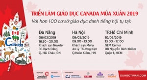 Triển lãm giáo dục Canada Mùa xuân năm 2019