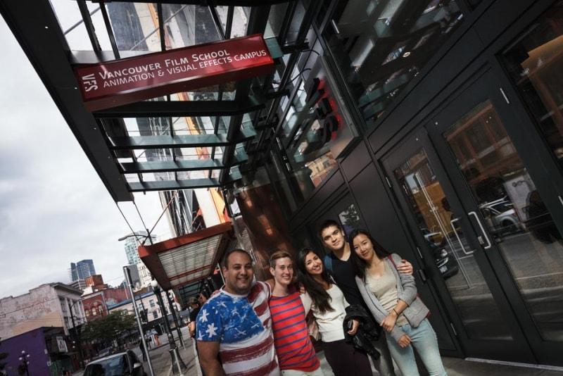 Học bổng toàn phần từ trường Vancouver Film School, Canada